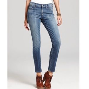 CHO Thompson Mid Rise Crop Skinny Jeans Size 26